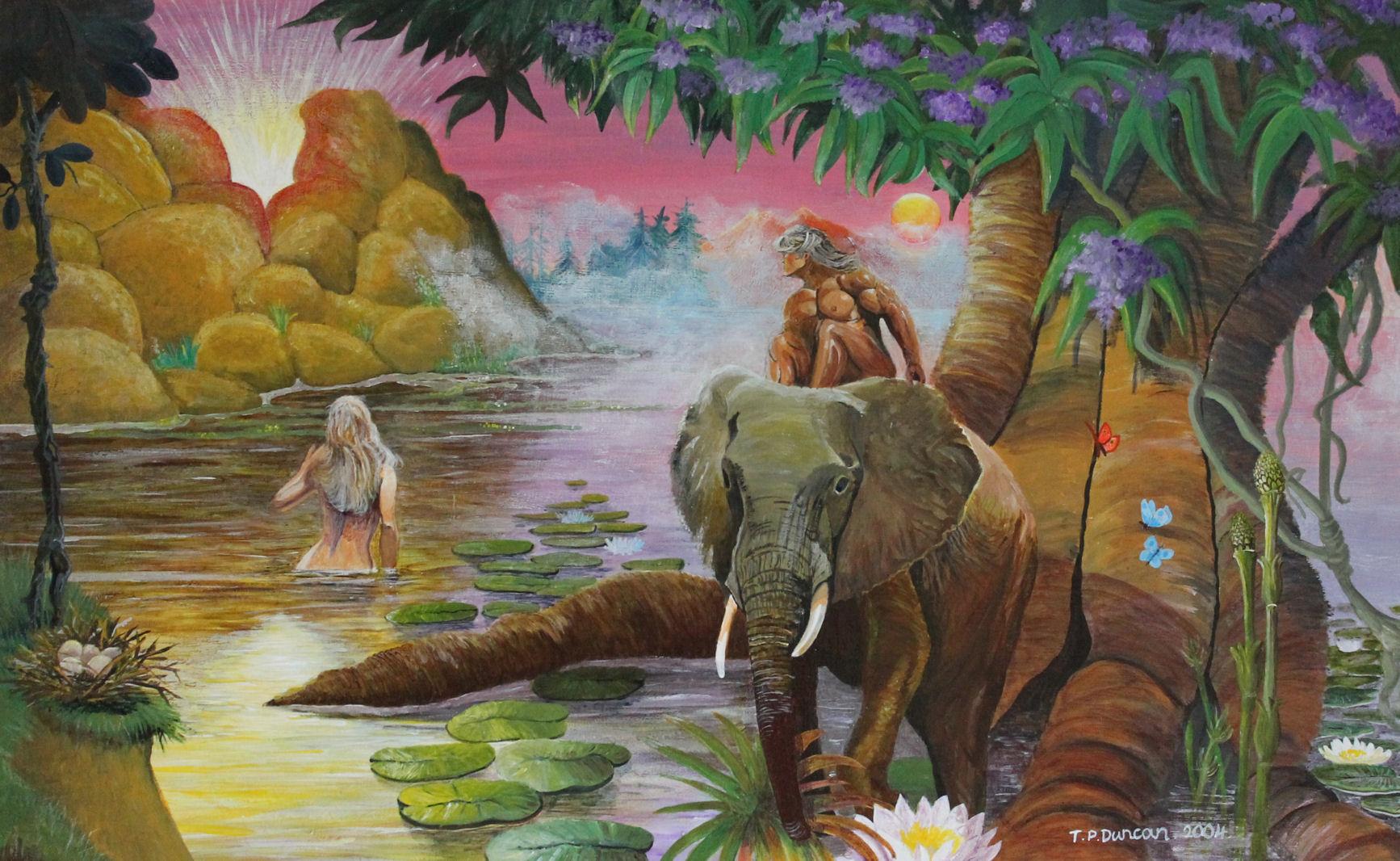 Meeting with God in the Garden of Eden   Trevor Duncan   Foundmyself