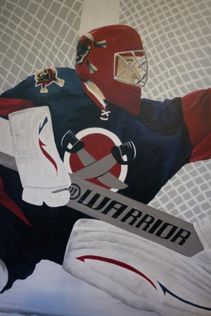 Goalie Mural