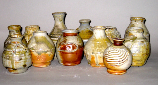 Wood-fired Mini Vases