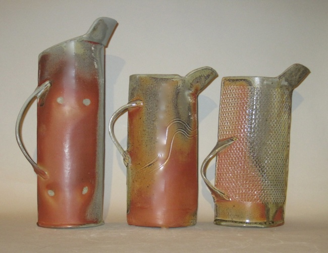 Three Wood-Fired Pitchers