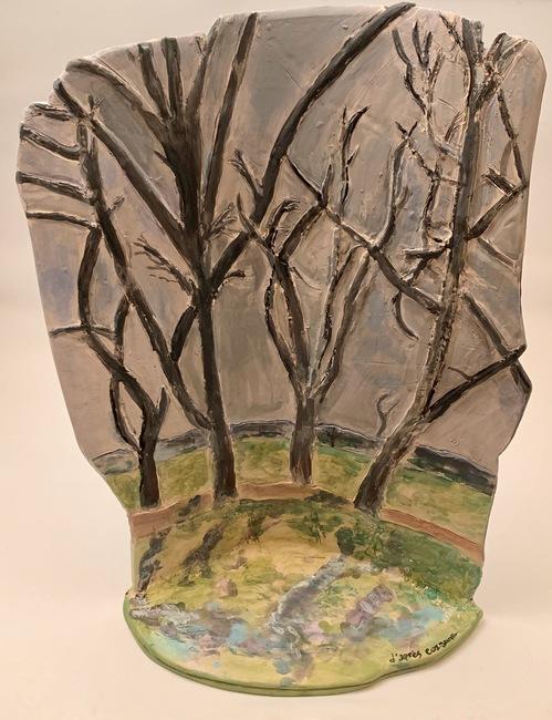d'aprés Cezanne