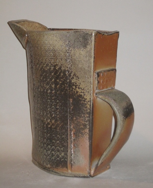 Three-sided Wood-fired Pitcher