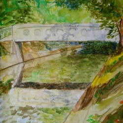Bridge Over Cascadilla Creek