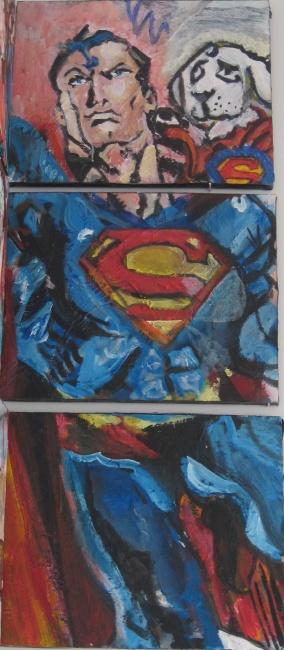 Superman detail World Forces