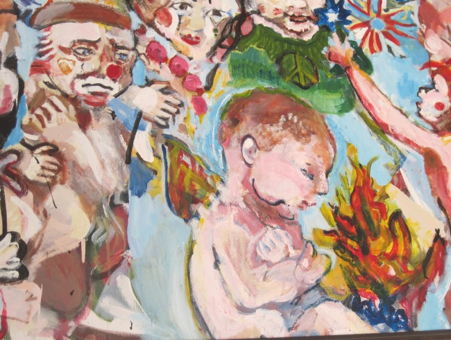 Angels and Clowns close-up