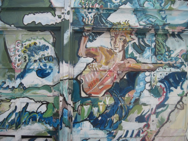 Prometheus of the Waves Mural