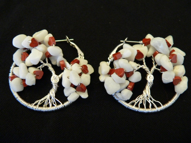 Valentine Tree of Life Earrings!
