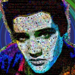 Elvis-presley Mosaic Collage