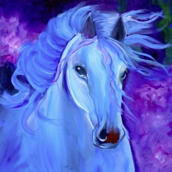 Horse Painting - Thunderbolt