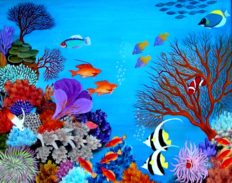 словами, краски подводного мира картинки шиншилл служит чем-то