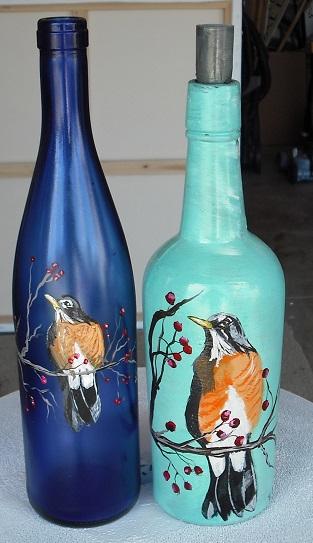 painted bottles thomas pittman foundmyself