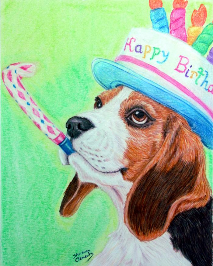 happy birthday beagle Happy Birthday Beagle   Shannon_Clements   Foundmyself happy birthday beagle