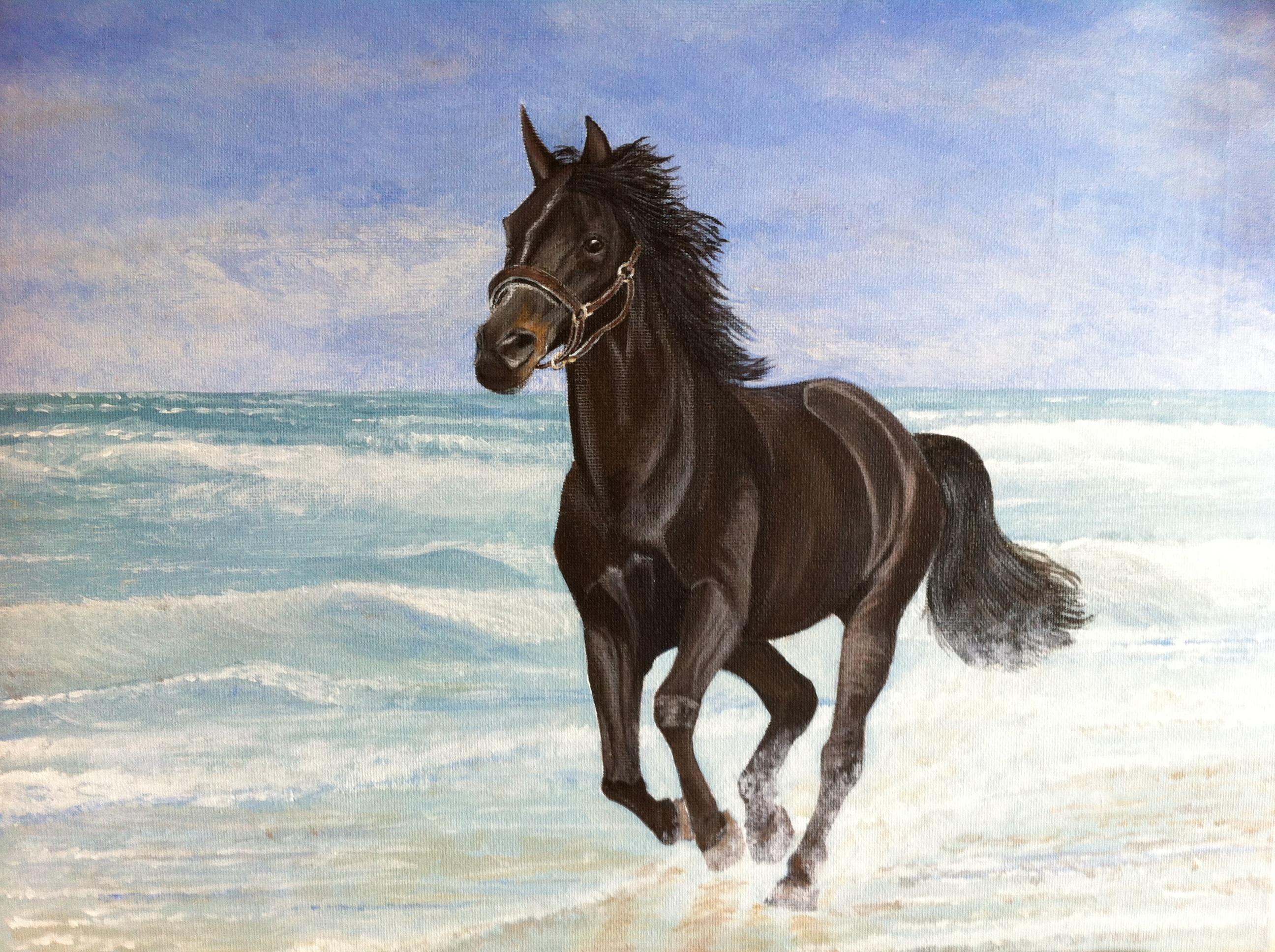 Running Horses Paintings