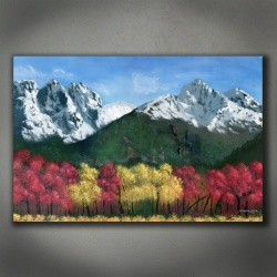 Autumn Mountainscape