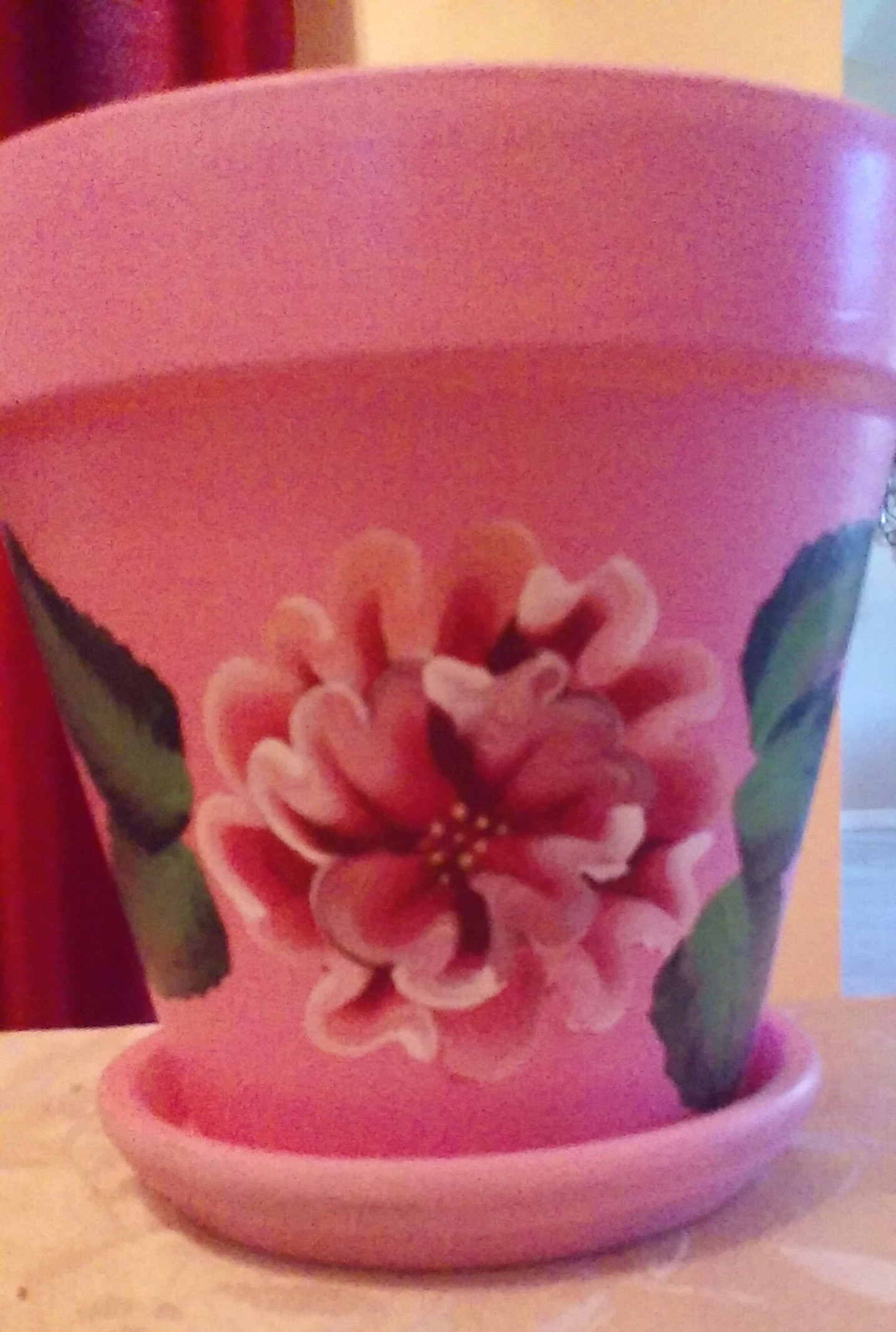 Pink flower pot janlea foundmyself pink flower pot mightylinksfo