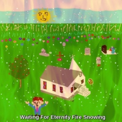 Waiting For Eternity Fire Snowing By Cheyene M. Lopez