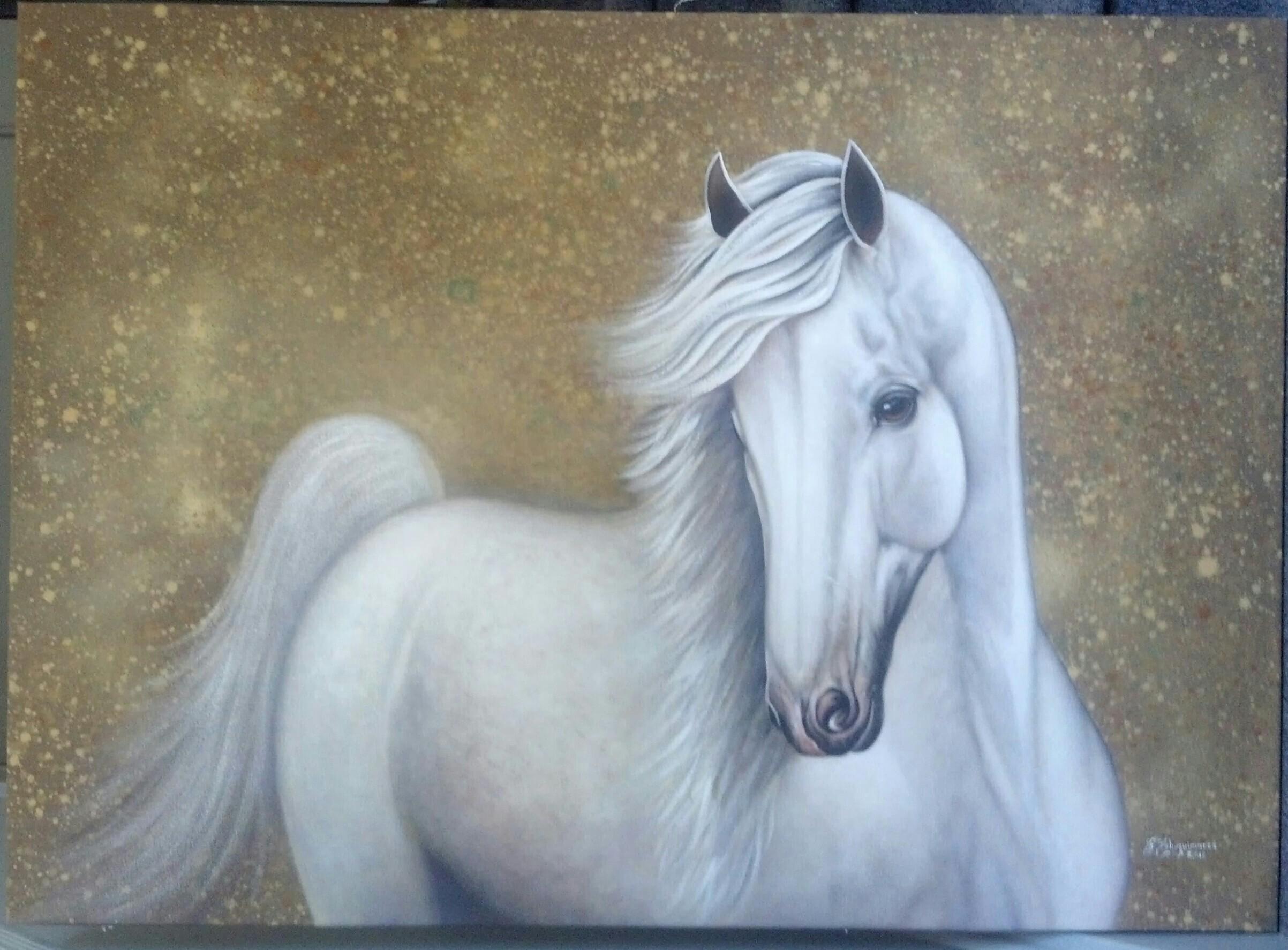 White Horse Diego Aleman Foundmyself