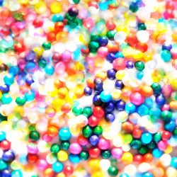 Cupcake Sprinkles - Colorful Candy Abstract