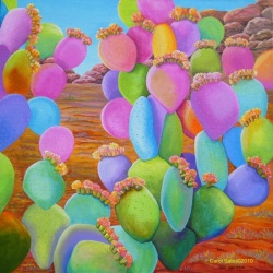 Prickly Pear Cactus~Eye Candy