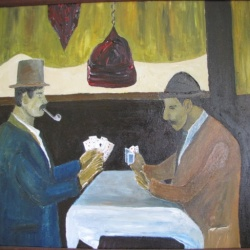 Card Players after Cezanne