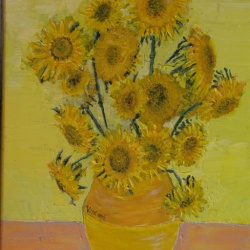 Sunflowers after Van Gogh