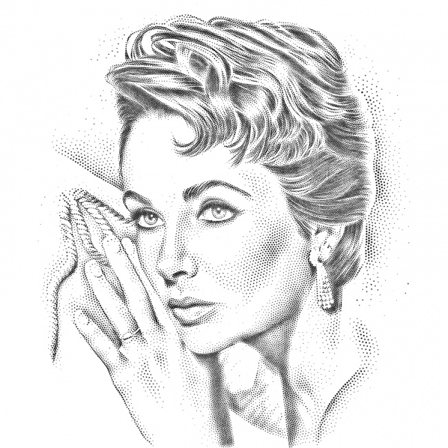 WSJ hedcut of lady