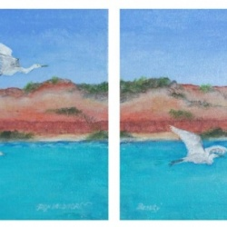 Broome Beauty (Diptych)
