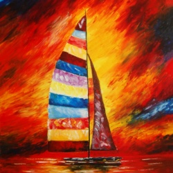Sailing Through Fire