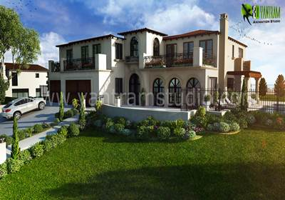 3D Exterior Villa Design | yantramstudio | Foundmyself
