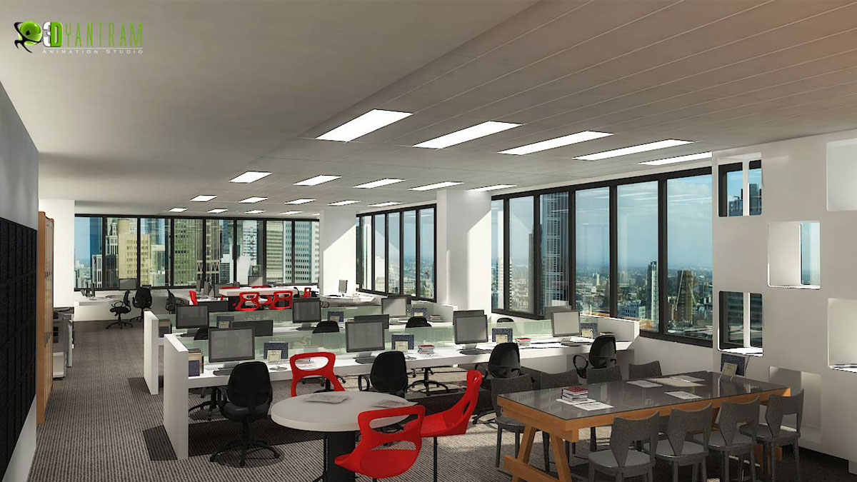commercial 3d interior cgi office yantramstudio foundmyself