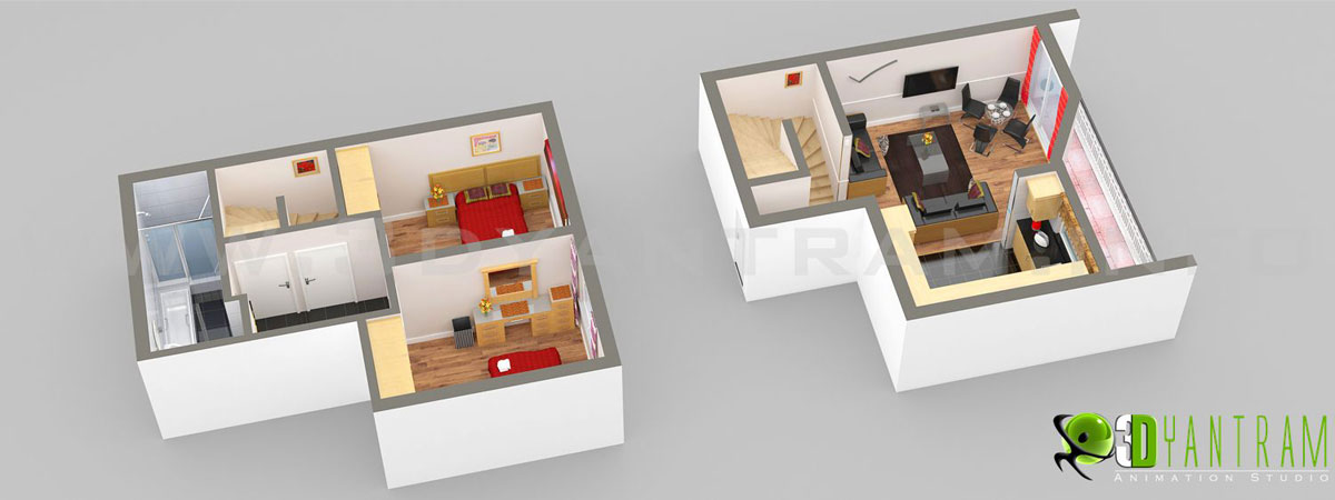 Small Home Floor Plan | yantramstudio | Foundmyself on 3d home inspection, 3d home maps, 3d home graphics, 3d home design, 3d home building software, 3d home fun,