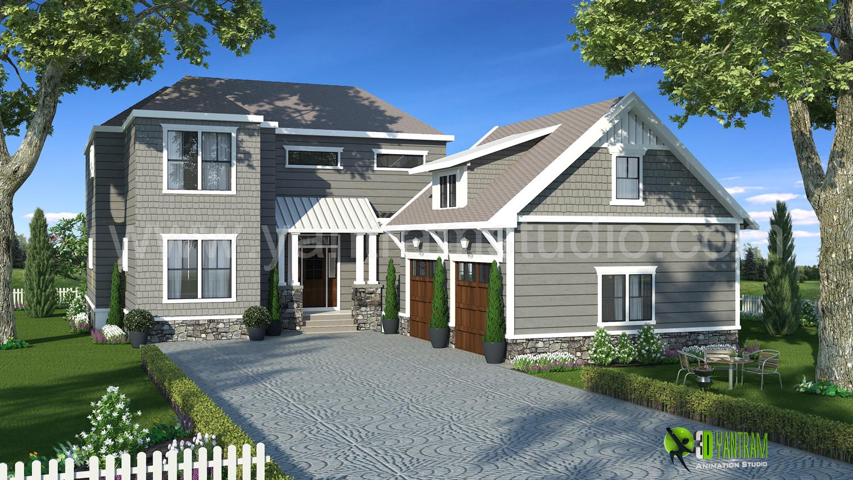 3d exterior rendering home design yantramstudio for 3d exterior home design