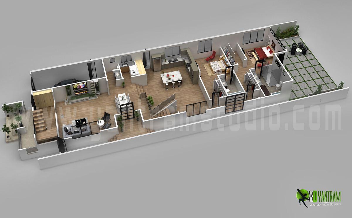 Plan Design | 3d Floor Plan Design For Modern Home Yantramstudio Foundmyself