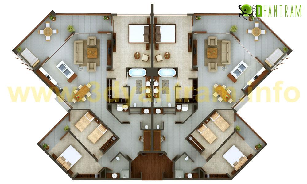 2d interior design. Simple Interior 2D Floor Plan Throughout 2d Interior Design