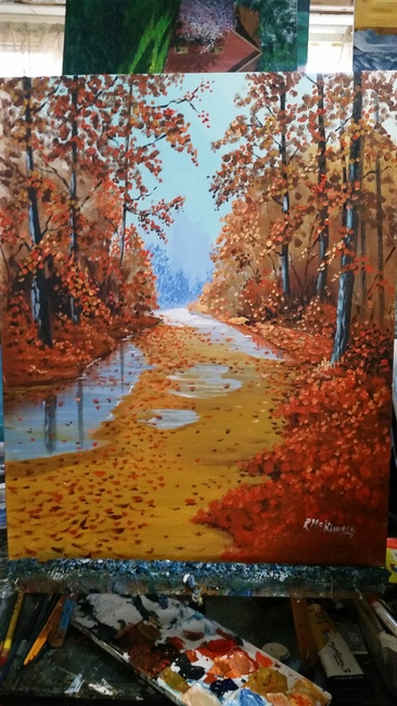 Autumn fire/Sold