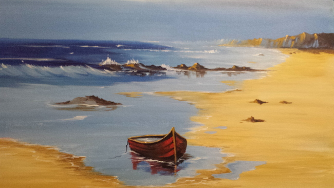 Down by the sea/SOLD