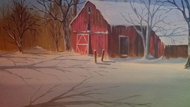 Old barn in Wheeler, In.