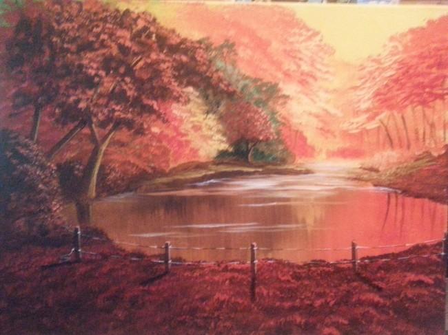 Autumn Lake/ Sold