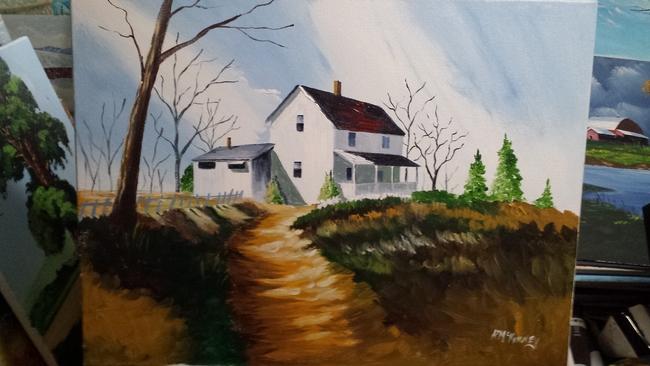 House on the ridge