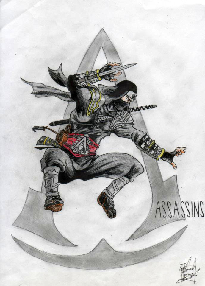 Assassin Creed Ninja Concept Dconway Foundmyself