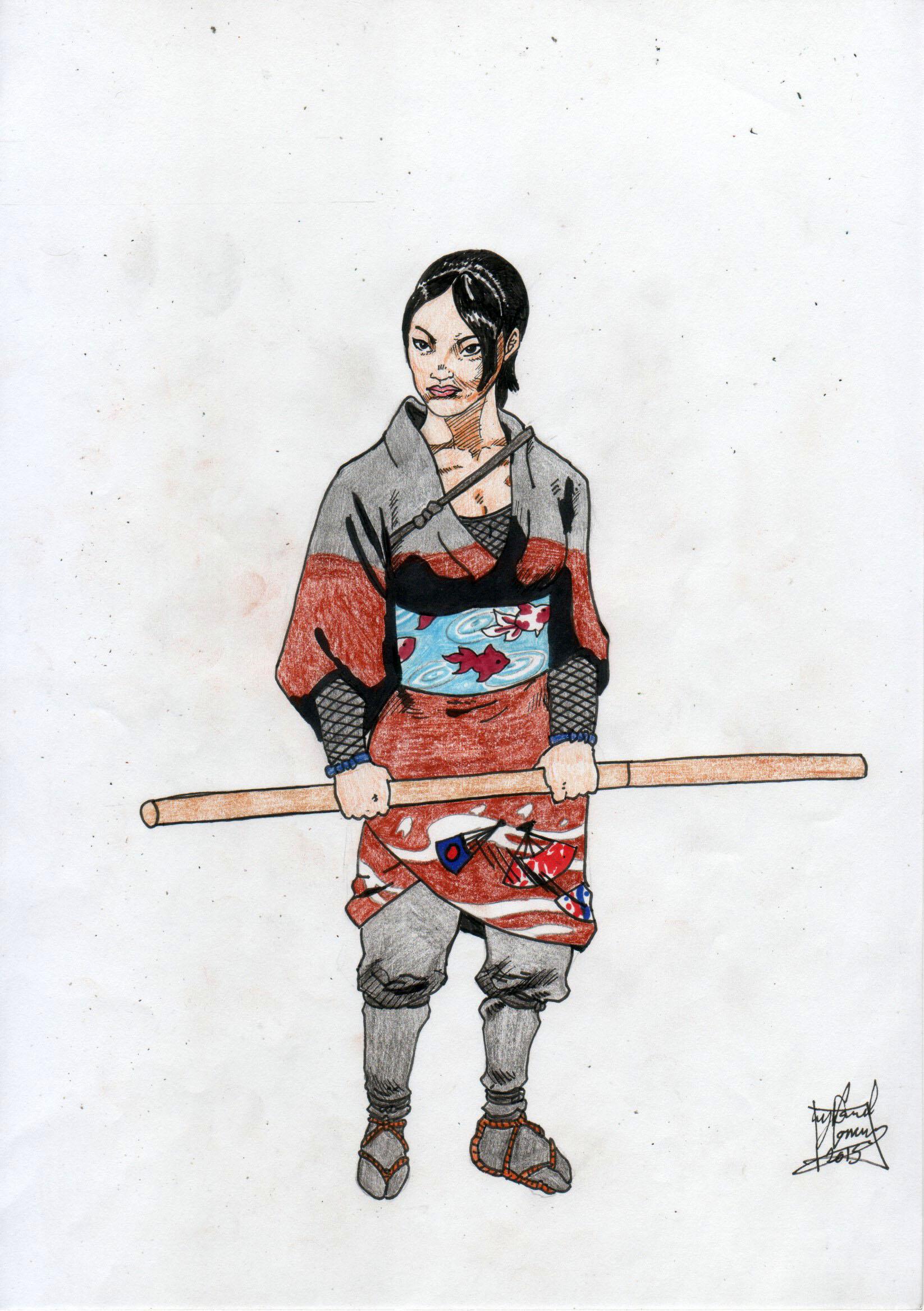 aiko ito (female ninja) | DConway | Foundmyself