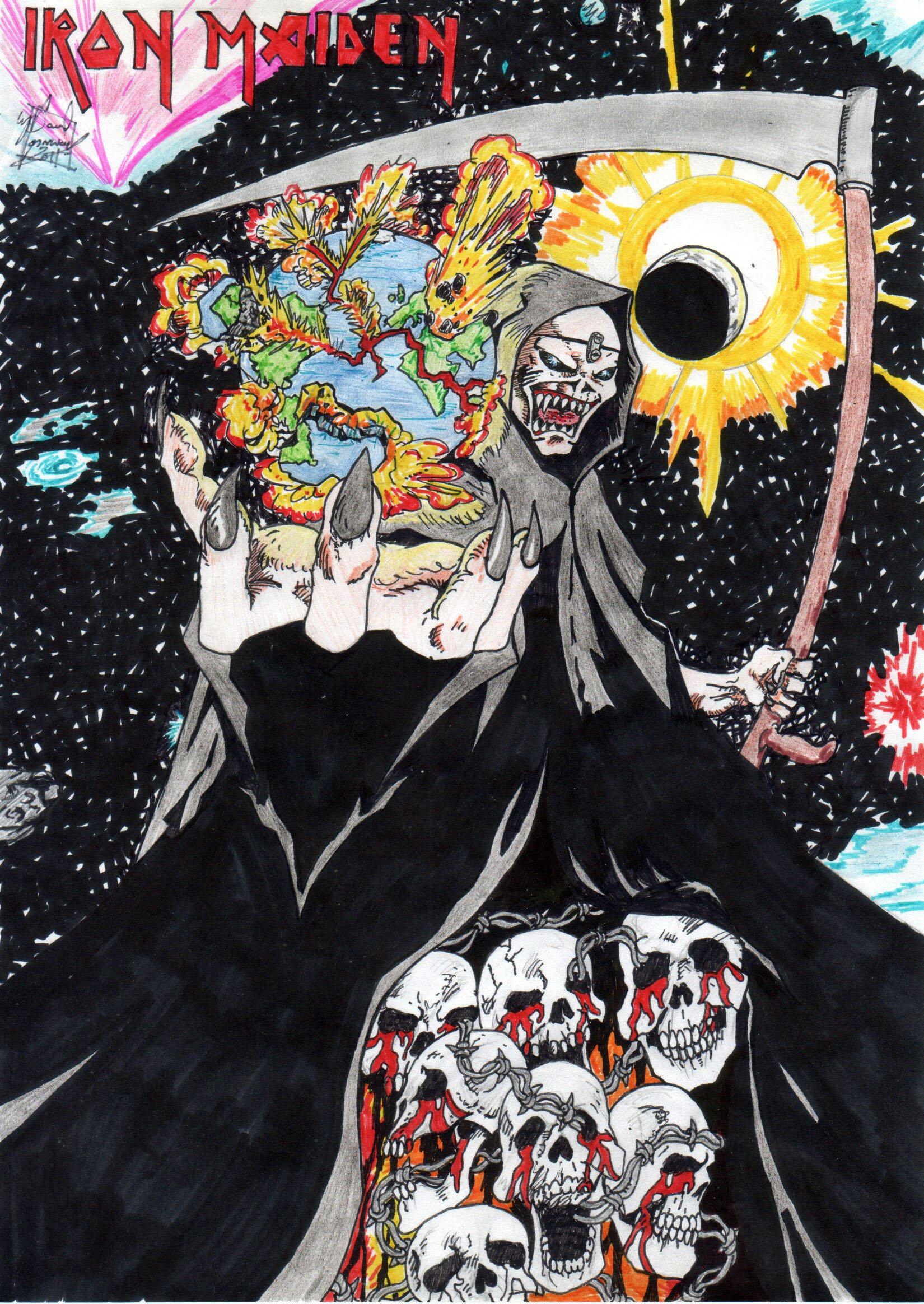 Iron Maiden Arte