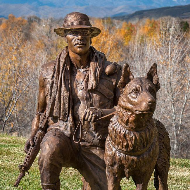 Veterans and War Dog Memorial