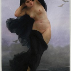 Night - William-Adolphe Bouguereau hand-painted oil painting