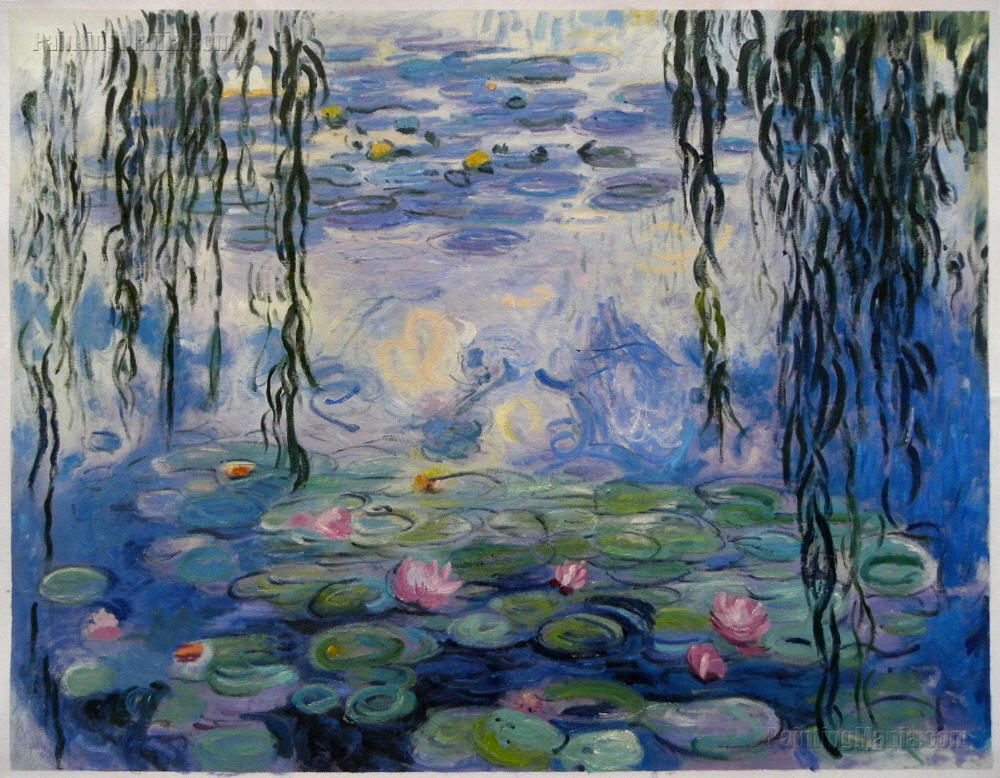 Water Lilies 1916 19 Claude Monet Hand Painted Oil