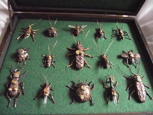 Steampunk Insect Bug Collection
