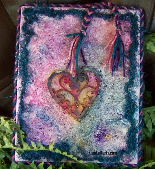 Texture Heart Art