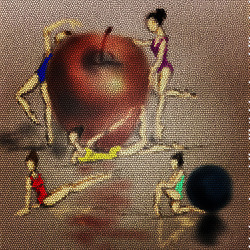 Apple dance