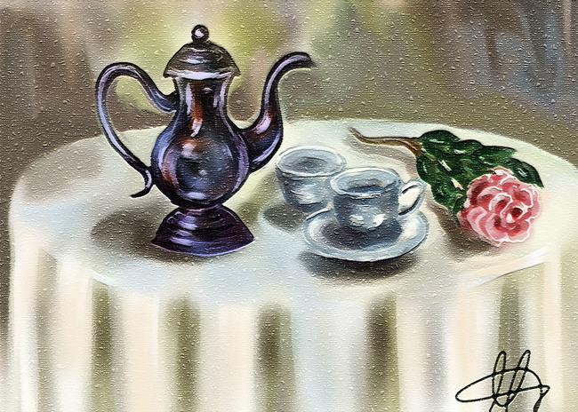 The tea-pot