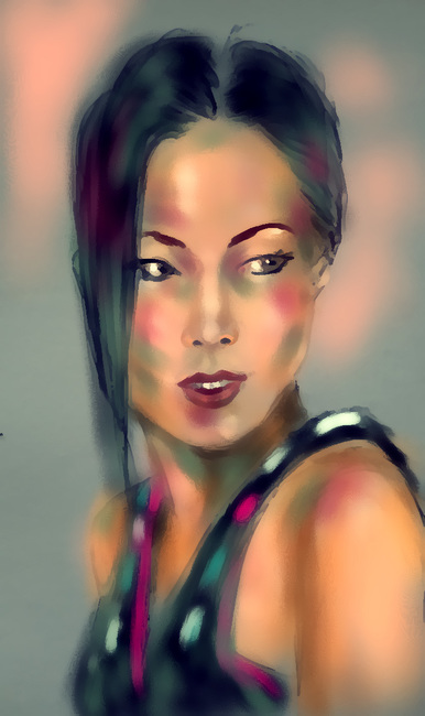 Chinese girl (variation)